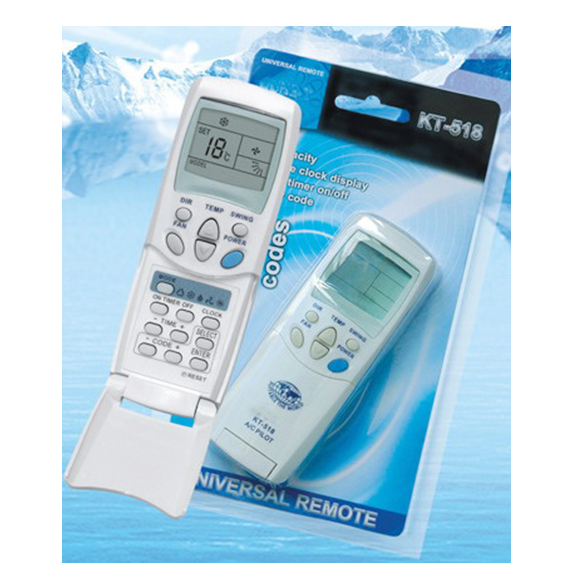 KT-518 Universal A/C Remote Control