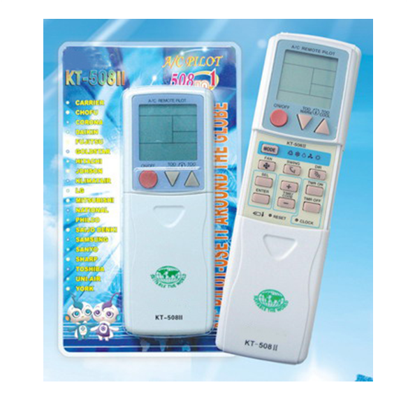 KT-508II Universal A/C Remote Control
